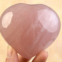 Vintage rose quartz heart 312g