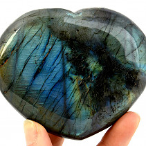 Heart of labradorite 424g