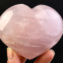 Rose quartz heart selective (256g)