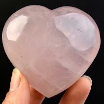 Love heart rose quartz 203g
