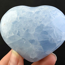 Selective heart calcite blue 167g