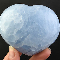 Selective heart calcite blue 305g