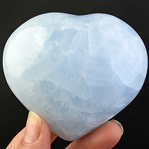 Heart of blue calcite 249g