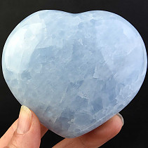 Heart of blue calcite 321g