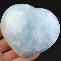 Heart of blue calcite 346g