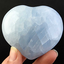 Love heart of blue calcite 181g