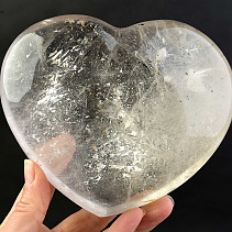 Heart made of crystal large (1414g)