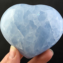 Selection Heart Calcite Blue 267g