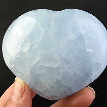 Heart of blue calcite 240g