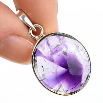 Amethyst star pendant Ag 925/1000 handle 6.3g