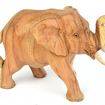 Elephant light with trunk up 17cm