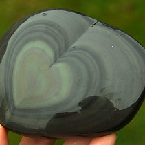 Obsidian rainbow heart (Mexico) 230g