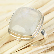 Ring moon stone size 54 Ag 925/1000 9,1g