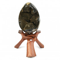 Septarie dragon egg (Madagascar) 3083g + stand