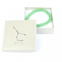 Cancer bracelet aventurine in gift box