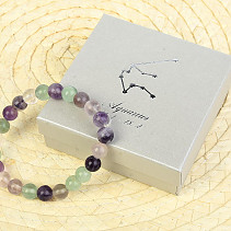 Aquarius bracelet fluorite in a gift box