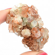 Dragee aragonite with crystals 79g