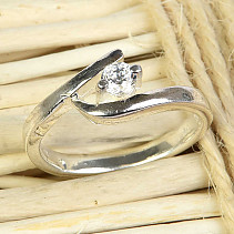 Ladies' Silver Ring Ag 925/1000 size 59 (4,0g)