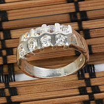 Silver ring size 53 Ag 925/1000 4,9g