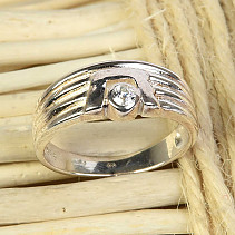 Silver ring size 53 Ag 925/1000 3,4g