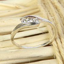 Silver ring Ag 925/1000 size 58 1,7g