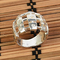 Silver ring size 50 Ag 925/1000 7,5g