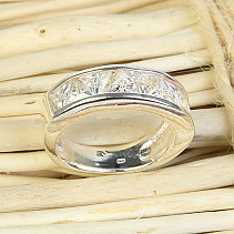Silver ring size 51 Ag 925/1000 5,6g