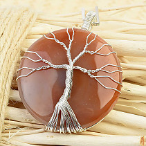 Agate pendant tree of life biž (25,0g)