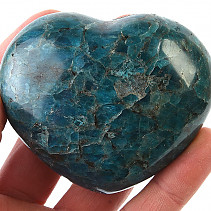 Smooth heart from apatite 283g