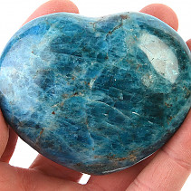 Smooth heart from apatite 252g
