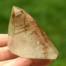 Crystal with spike rutile cut (76g)