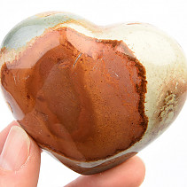 Jasper imperial smooth heart 151g