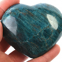 Smooth heart from apatite 342g
