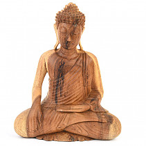 Buddha wooden two-tone 33cm