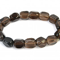 Bracelet smoky irregular rectangles