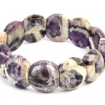 Wider bracelet made of amethyst 20mm