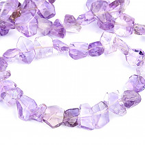 Amethyst bracelet irregular pieces