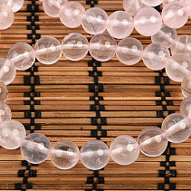 Rose quartz ball bracelet 10mm