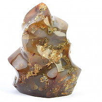 Jasper + agate decorative flame 1250g