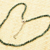 Necklace serafinite beads 5mm