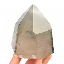 Crystal with inclusions tip cut (704g)