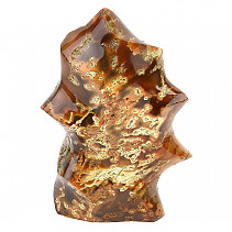 Jasper + agate decorative flame 910g