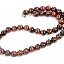 Bull's eye necklace beads 45cm