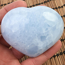 Heart of blue calcite 278g