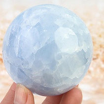 Blue calcite ball 475g
