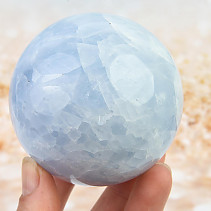 Blue calcite ball 550g