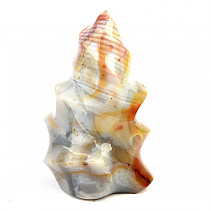 Jasper + agate decorative flame 1105g