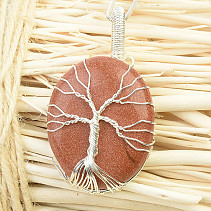 Tree of Life pendant rose bizu (21g)