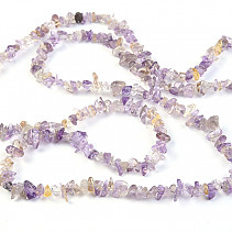 Ametrine Necklace larger stones 90 cm