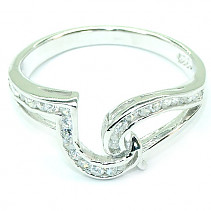 Ring Silver Ag 925/1000 - typ003